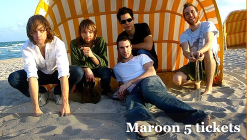 cheap Maroon 5 tickets
